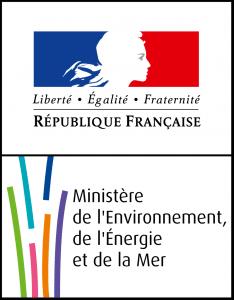 Logo Ministère de l'Environnement, de l'Energie et de la Mer
